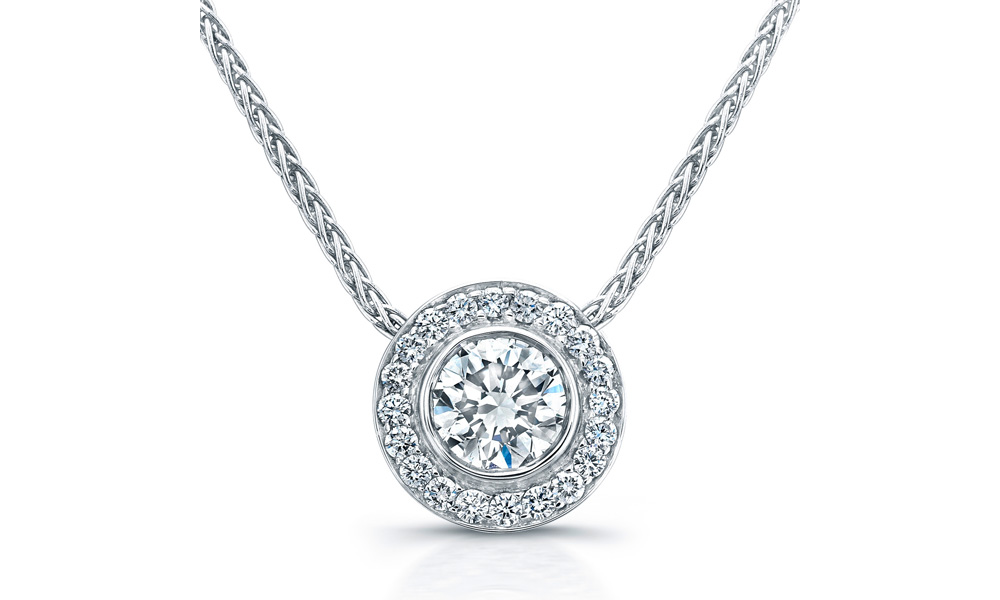 Diamond Necklace Collection - Platinum Jewelry a0b381039b