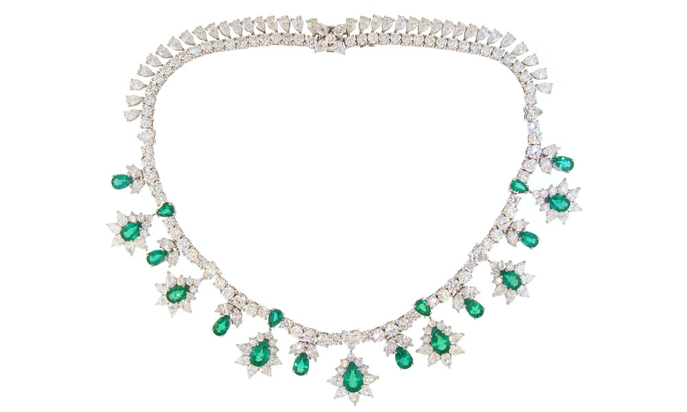 necklace platinum liked diamond pin on featuring polyvore necklaces jewelry